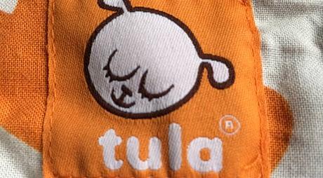 Tula draagzak label